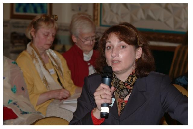 Jennifer Loewenstein at IHRC's conference 'Human Rights and Israel at 60', 2008