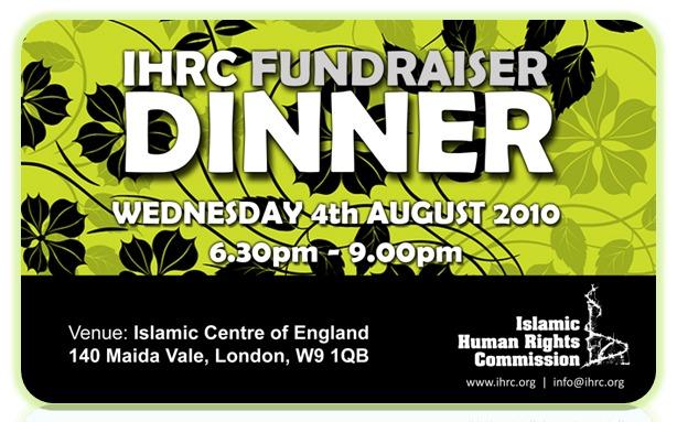 IHRC dinner