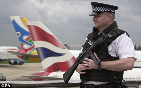 Police at the Airports