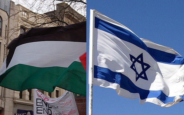 Israel-Palestine Flags