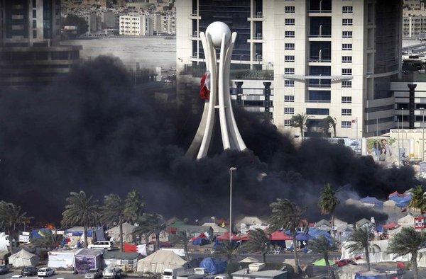 Bahrain Pearl square