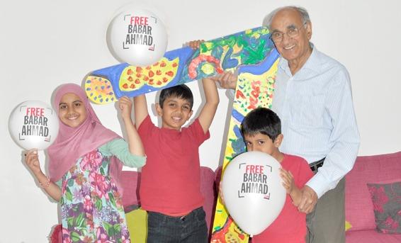 Babar Ahmed Family