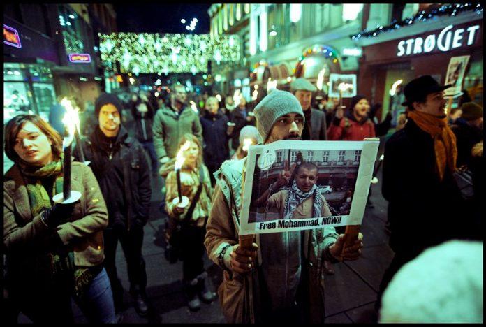 Vigil for Mohammed (c) Krisine Poppe