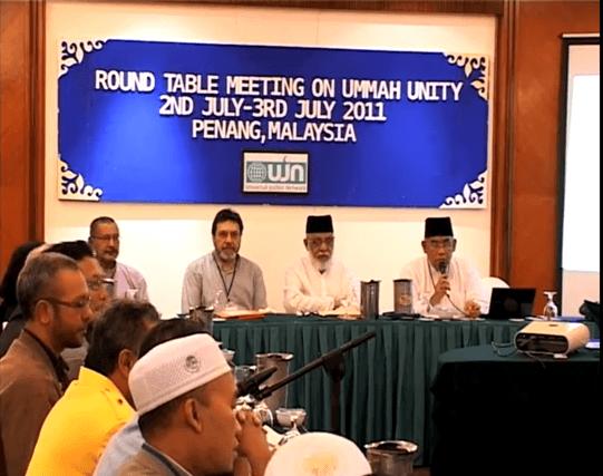 Round table meeting on Ummah Unity