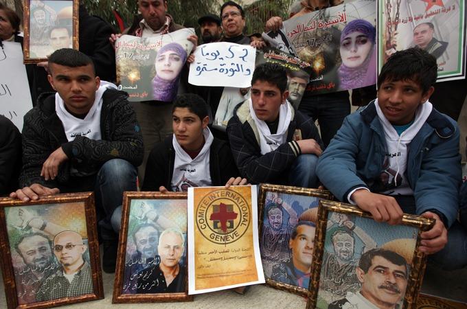 palestinian prisoners on hunger strike