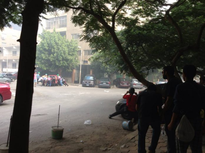 Cairo: Protestors hide from police and army