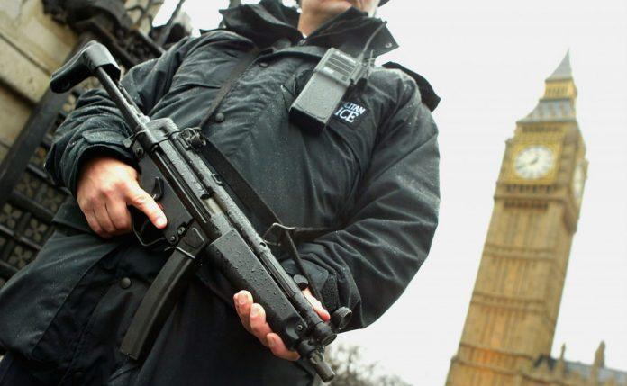 police-gun-london